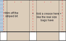 diagram1 how to assemble gift bags